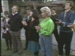 Harold Bishop, Kerry Bishop, Helen Daniels in Neighbours Episode 1095