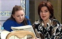 Michelle Scully, Lyn Scully in Neighbours Episode 3710