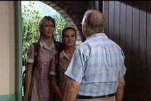 Nina Tucker, Tahnee Coppin, Harold Bishop in Neighbours Episode 4246