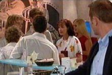 Max Hoyland, Susan Kennedy, Boyd Hoyland, Daniel Clohesy in Neighbours Episode 4297