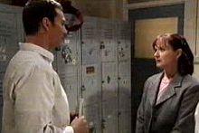 Taj Coppin, Susan Kennedy in Neighbours Episode 4301