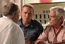 Harold Bishop, Max Hoyland, Lou Carpenter in Neighbours Episode 4304