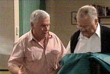 Lou Carpenter, Harold Bishop in Neighbours Episode 4304