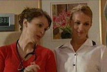 Dr Veronica Olenski, Nurse Nicola Hodder  in Neighbours Episode 4308