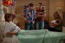 Lyn Scully, Joe Scully, Jack Scully, Oscar Scully, Steph Scully in Neighbours Episode 4309
