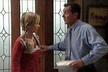 Steph Scully, Karl Kennedy in Neighbours Episode 4313