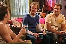 Stuart Parker, Jonathan Verne, Taj Coppin in Neighbours Episode 4353