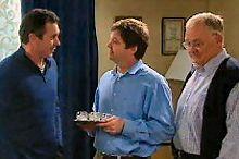 Karl Kennedy, David Bishop, Harold Bishop in Neighbours Episode 4353