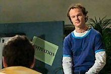 Taj Coppin, Jonathan Verne in Neighbours Episode 4353