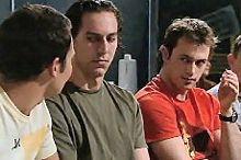 Taj Coppin, Stuart Parker in Neighbours Episode 4354