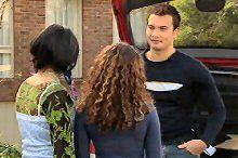 Taj Coppin, Serena Bishop, Sky Mangel in Neighbours Episode 4361