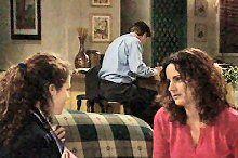 Serena Bishop, David Bishop, Liljana Bishop in Neighbours Episode 4362