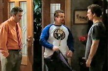 Karl Kennedy, Toadie Rebecchi, Taj Coppin in Neighbours Episode 4369