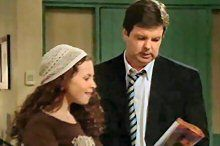 Serena Bishop, David Bishop in Neighbours Episode 4370