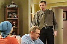 Karl Kennedy, Steph Scully, Max Hoyland in Neighbours Episode 4379