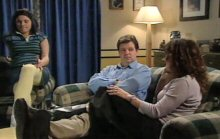 Sky Mangel, David Bishop, Liljana Bishop in Neighbours Episode 4382