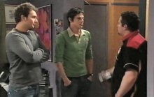 Taj Coppin, Jack Scully, Toadie Rebecchi in Neighbours Episode 4384