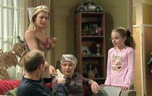 Max Hoyland, Izzy Hoyland, Steph Scully, Summer Hoyland in Neighbours Episode 4389