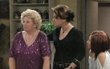 Valda Sheergold, Lyn Scully, Steph Scully in Neighbours Episode 4395