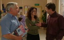 David Bishop, Liljana Bishop, Lou Carpenter in Neighbours Episode 4397