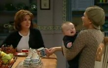 Lyn Scully, Oscar Scully, Steph Scully in Neighbours Episode 4400