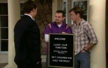 Taj Coppin, Toadie Rebecchi, Stuart Parker in Neighbours Episode 4400
