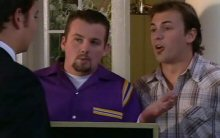 Taj Coppin, Toadie Rebecchi, Stuart Parker in Neighbours Episode 4400