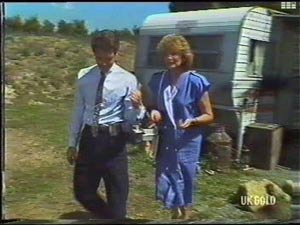 Paul Robinson, Madge Bishop in Neighbours Episode 0476