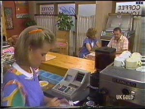Daphne Clarke, Madge Bishop, Harold Bishop in Neighbours Episode 0476