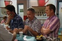 Jack Scully, Gino Esposito, Max Hoyland in Neighbours Episode 4425