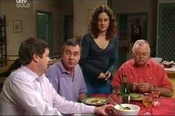 David Bishop, Karl Kennedy, Liljana Bishop, Harold Bishop in Neighbours Episode 4430