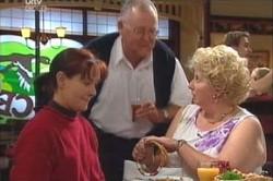 Susan Kennedy, Harold Bishop, Valda Sheergold in Neighbours Episode 4431