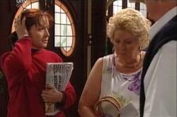 Susan Kennedy, Valda Sheergold, Harold Bishop in Neighbours Episode 4431