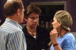 Max Hoyland, Steph Scully, Gus Cleary in Neighbours Episode 4433