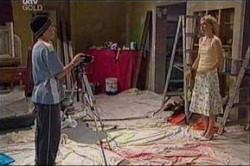 Stingray Timmins, Sindi Watts in Neighbours Episode 4435