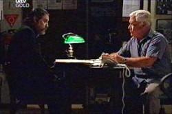 Rocco Cammeniti, Lou Carpenter in Neighbours Episode 4435