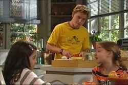 Sky Mangel, Boyd Hoyland, Summer Hoyland in Neighbours Episode 4437