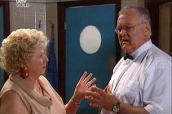 Valda Sheergold, Harold Bishop in Neighbours Episode 4438