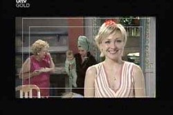 Valda Sheergold, Oscar Scully, Lyn Scully, Sindi Watts in Neighbours Episode 4442