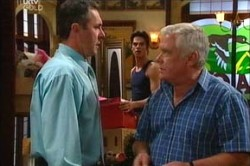 Karl Kennedy, Lou Carpenter in Neighbours Episode 4444