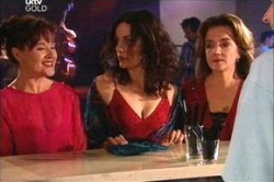 Susan Kennedy, Liljana Bishop, Lyn Scully in Neighbours Episode 4445