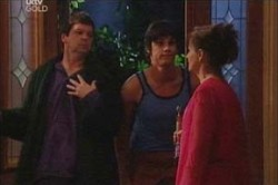 David Bishop, Jack Scully, Susan Kennedy in Neighbours Episode 4446