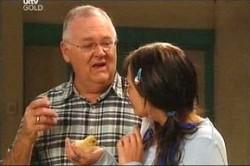 Harold Bishop, Sky Mangel in Neighbours Episode 4449