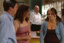 David Bishop, Liljana Bishop, Harold Bishop, Sky Mangel in Neighbours Episode 4450