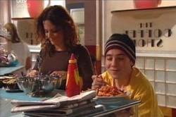 Stingray Timmins, Liljana Bishop in Neighbours Episode 4451