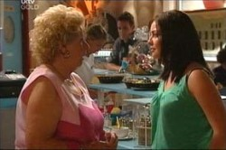 Valda Sheergold, Michelle Scully in Neighbours Episode 4455