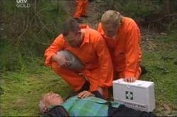 Lou Carpenter in Neighbours Episode 4456