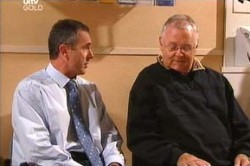 Karl Kennedy, Harold Bishop in Neighbours Episode 4457