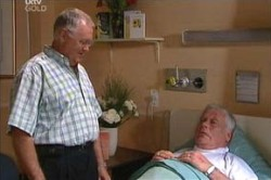 Harold Bishop, Lou Carpenter in Neighbours Episode 4457