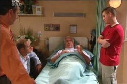Karl Kennedy, Max Hoyland, Lou Carpenter, Connor O